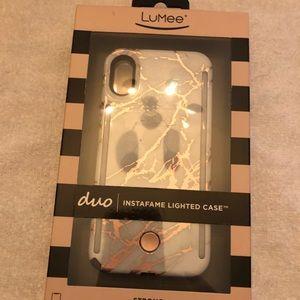 LuMee iPhone X Case